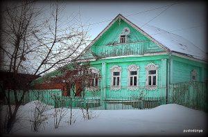 Suzdal klasik Rus ahşap evleriyle dolu.