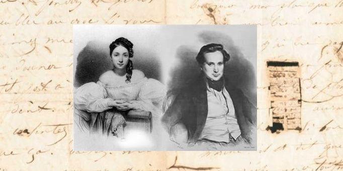 Çapkın Victor Hugo ve sevgilisi
