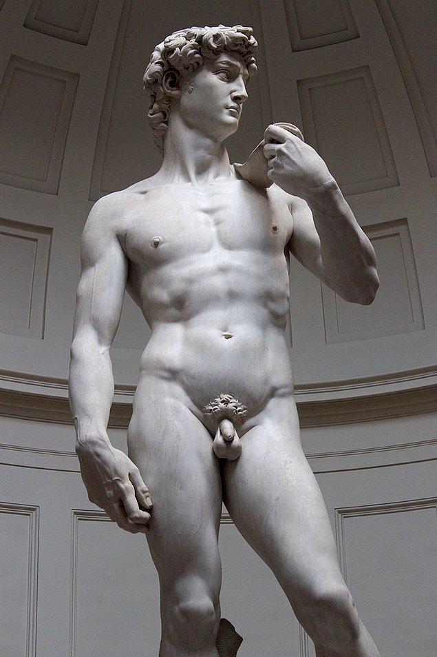 Michelangelo'nun en bilinen eseri Davut heykelidir. Bu heykel Floransa da sergilenmektedir.