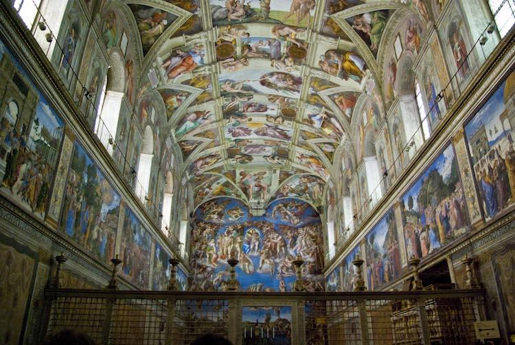 Michelangelo Sistina Şapeli tavanı